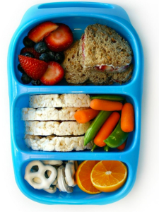 Blue smallable lunchbox